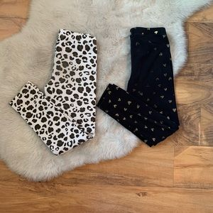 Cat & Jack Girls Leggings Bundle Sz 6/6x